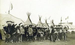 wild west show indians