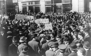 IWW demonstration in new york