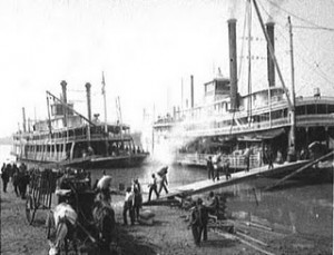 steamboats in memphis