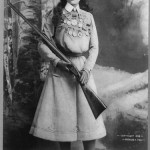 The Firearms of Sharpshooter Annie Oakley