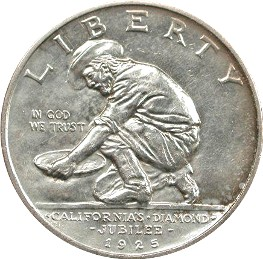california jubilee half dollar