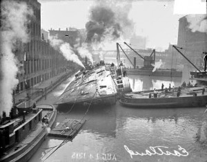 eastland capsized in chicago