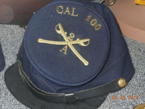 civil war california cavalry hat