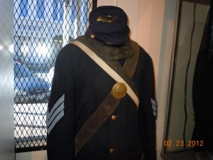 california volunteer sergeants uniform