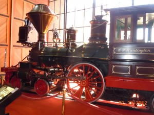 cp huntington locomotive