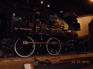 governor stanford locomotive