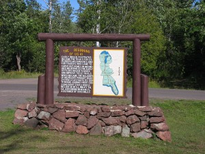 copper harbor michigan sign