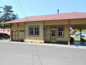 north pacific coast railroad station