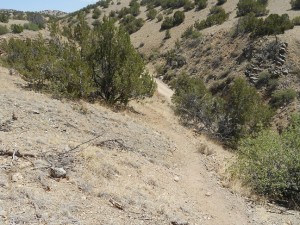 hiking trails at cerrillos new mexico