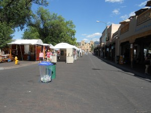 san francisco street in santa fe new mexico