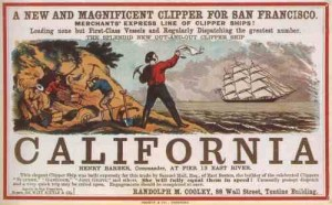 clipper ship advertisements