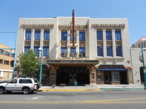 the kimo theater in albuquerque new mexico