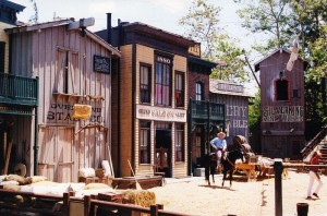 universal studios western set