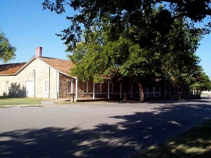 old infantry Barracks at fort sill oklahoma