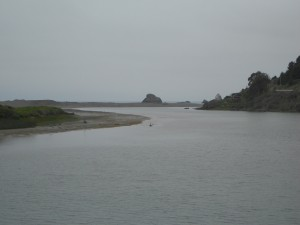russian river mouth