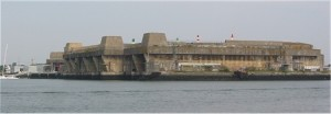 u-boat base at lorient france