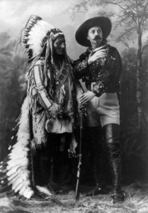 william cody and sitting bull