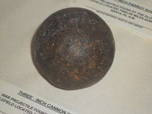 civil war cannon ball