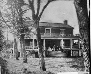 mclean house at appomattox courthouse