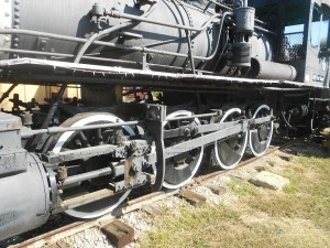 baldwin locomotive driving wheels