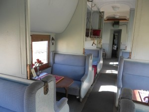 pullman sleeper car interior photo