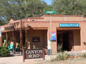 canyon road in santa fe