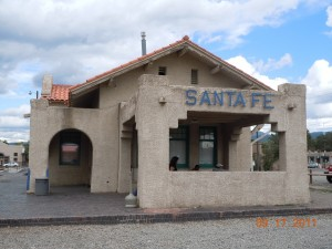 Old Santa Fe Railroad Depot, Santa Fe NM