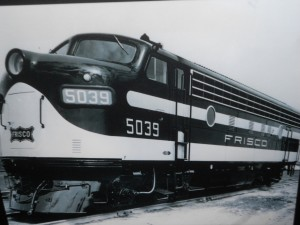 frisco diesel locomotive