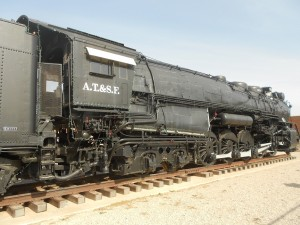 santa fe steam locomotive