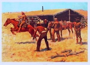 frederick remington pony express art