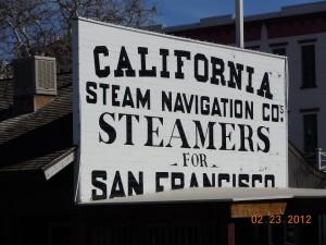 old town sacramento steamer service