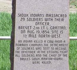 grattan massacre memorial