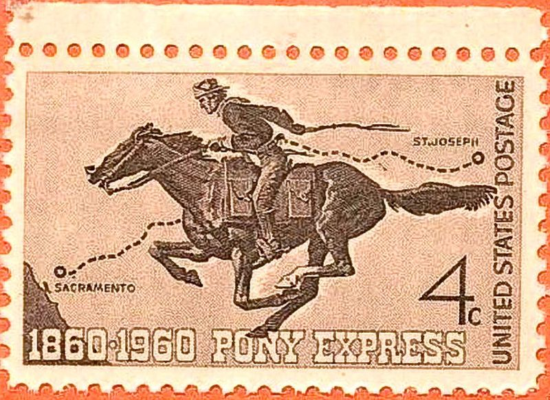 pony express Nearly everything you thought you knew about the pony express is wrong well,  perhaps not wrong, but exaggerated or romanticized if you're.