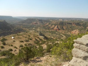 palo duro canyon scenery
