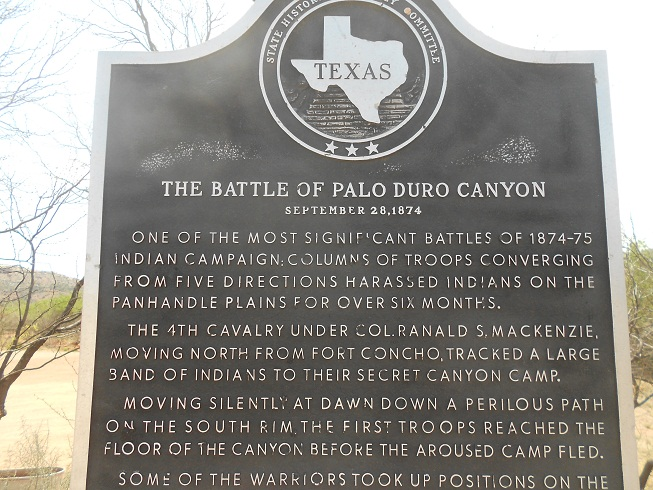 battle of palo duro canyon