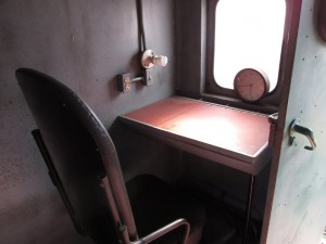 caboose conductor desk