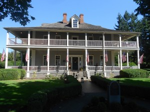 historic homes at fort vancouver