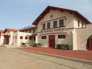 santa fe railroad amarillo train depot