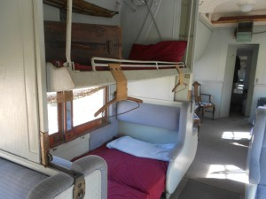 pullman car interior