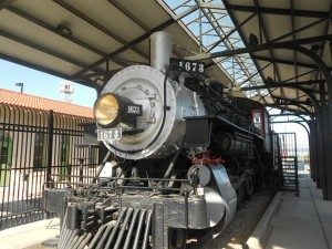 southern pacific steam locomotive exhibit