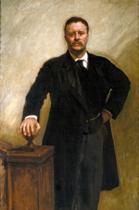 theodore roosevelt presidential portrait