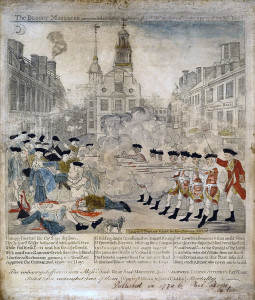 boston massacre engraving paul revere
