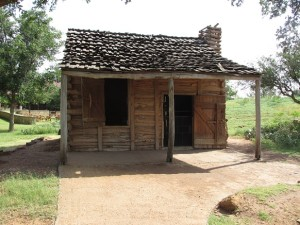 old frontier cabin