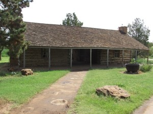 historic ranch buildings