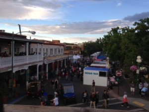 santa fe fiesta plaza photo