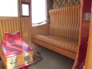 concord coach interior
